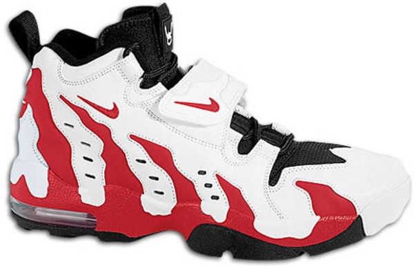 Deion Sanders Shoes Red Black And White