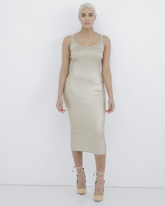 dress gold gold dress metallic metallic dress bodycon bodycon dress