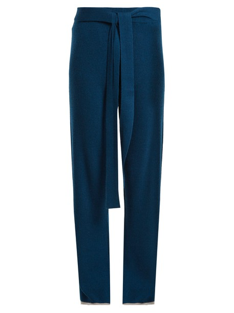 PEPPER & MAYNE navy pants