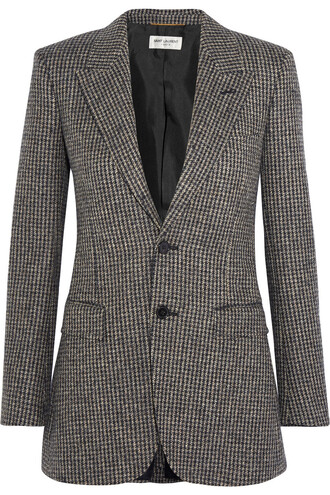 blazer wool brown jacket