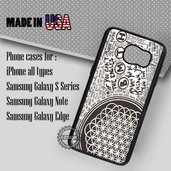 Samsung S7 Case - Art Collage Sempiternal- iPhone Case #SamsungS7Case #bmth #yn