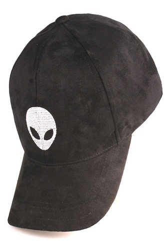 hair accessory hat cap black suede alien fashion style trendy cool freevibrationz free vibrationz