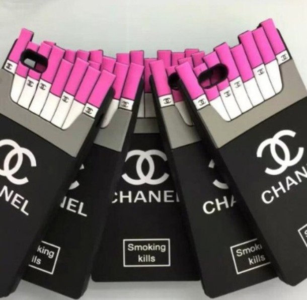 Chanel Iphone 6 Case Smoking Kills Chanel Smoking Kills Iphone