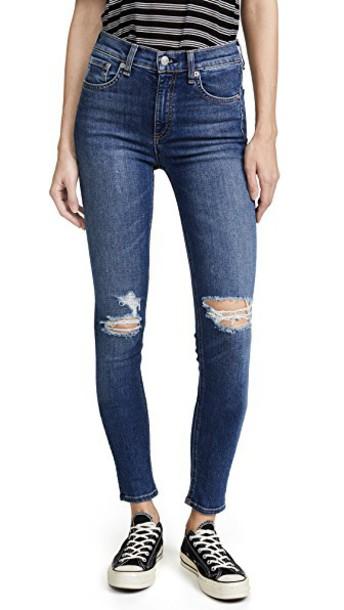 Rag & Bone/JEAN jeans skinny jeans high