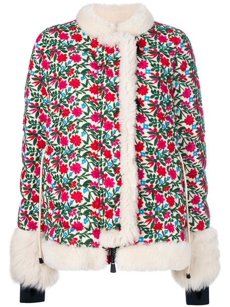 MONCLER GRENOBLE jacket women floral print
