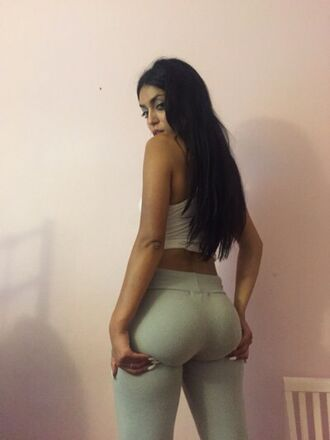 leggings nude beige neutral tan yoga pants pants grey white tights