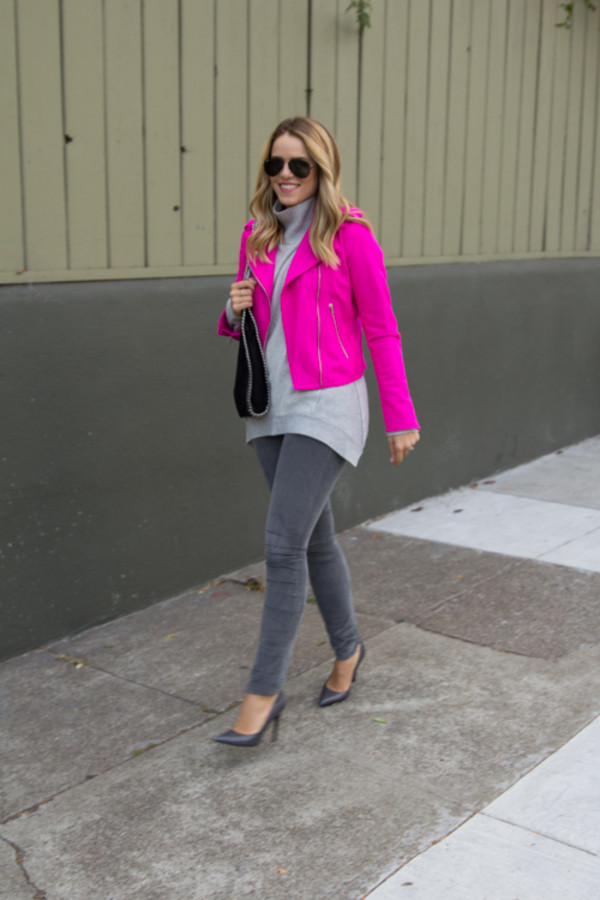 gal meets glam jacket sweater shoes bag sunglasses