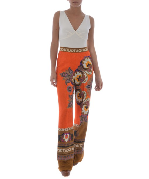 ETRO print paisley pants