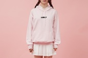 sweater,pink,fashion,pastel,pastel goth,pastel grunge,cyber ghetto,aesthetic,tumblr,tumblr girl,pastel sweater,quote on it