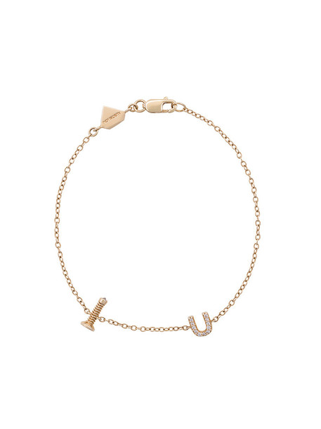 Alison Lou women gold grey metallic jewels