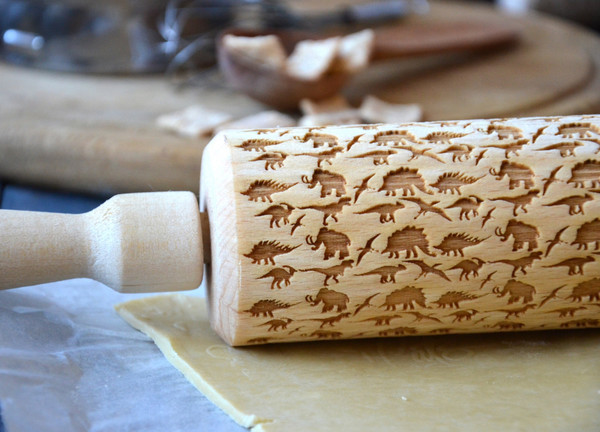 home accessory dinosaur science kitchen wood etsy