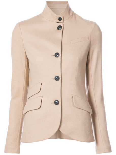 Rag & Bone blazer women nude wool jacket