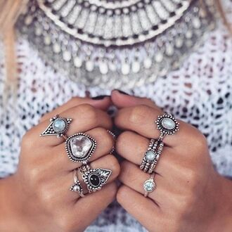 jewels shop dixi gypsy boho bohemian hippie grunge jewelry jewelery ring knuckle ring above the knuckle ring above knuckle rings necklace moonstone ring moonstone rings gemstone gemstone ring stone stone ring stone rings onyx onxy ring gypsy ring gypsy rings teardrop teardrop ring
