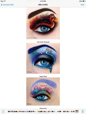 make-up eye makeup cool funny hipster back to school v neck dress