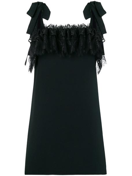 dress mini dress mini women lace cotton black