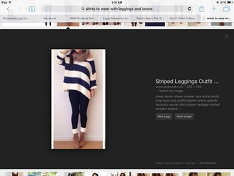 blouse bulky sweater asymetrical blue and white sweater striped sweater