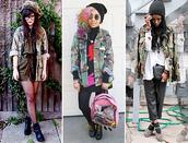 jacket,camouflage