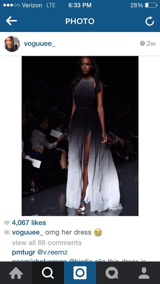 dress gray black white