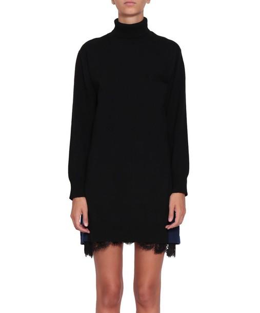 Sacai dress cotton wool