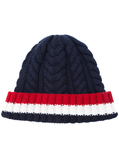 hat navy white blue red