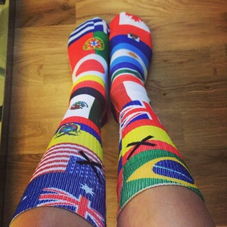 socks flag international