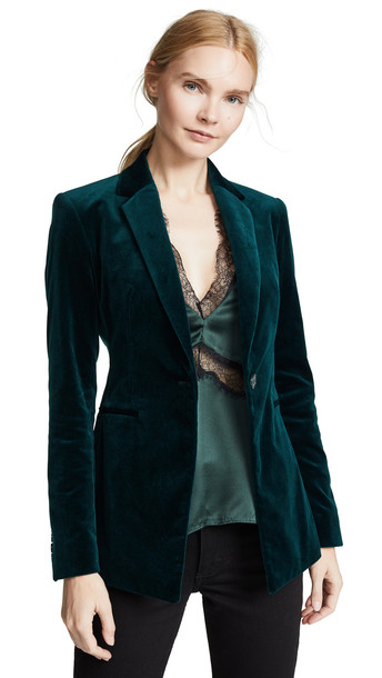 Theory Power Jacket in green