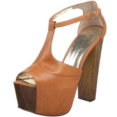 Amazon.com: Jessica Simpson Women's Dany Platform Sandal,Light Tan,10 M US: Jessica Simpson: Shoes