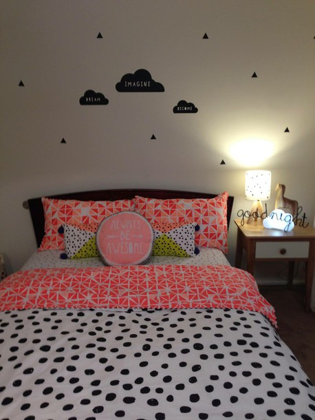 home accessory cover quilt hipster bedding home decor polka dots jeans jewels