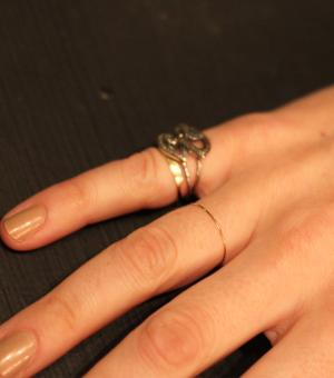 Catbird :: Catbird Jewelry :: Threadbare Ring, Yellow Gold