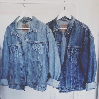 blouse jeans coat jacket large denim jacket denim denim jacket veste