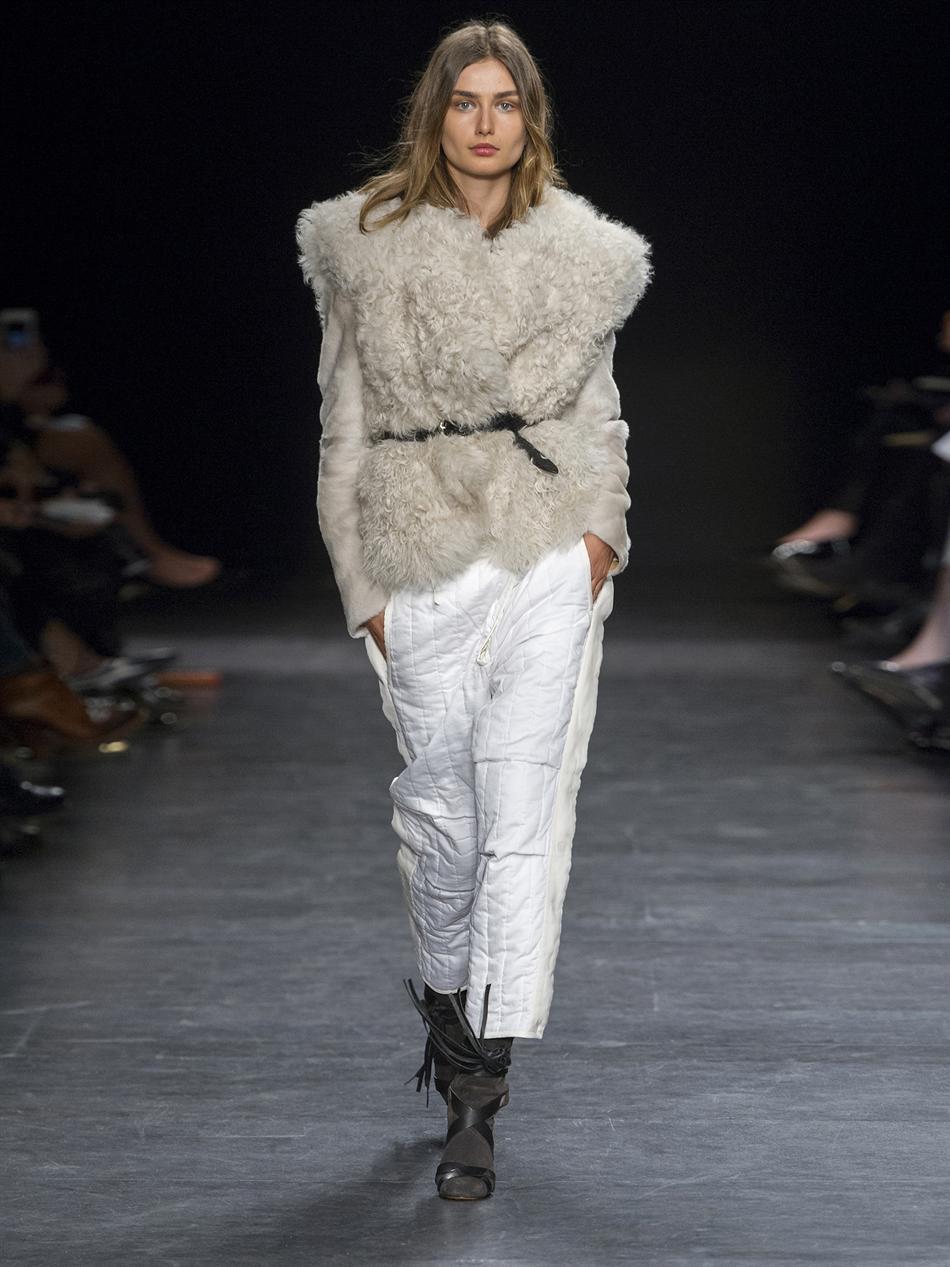 Drew shearling jacket | Isabel Marant | MATCHESFASHION.COM