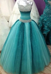 dress,turkise,prom dress,blue dress,glitter dress
