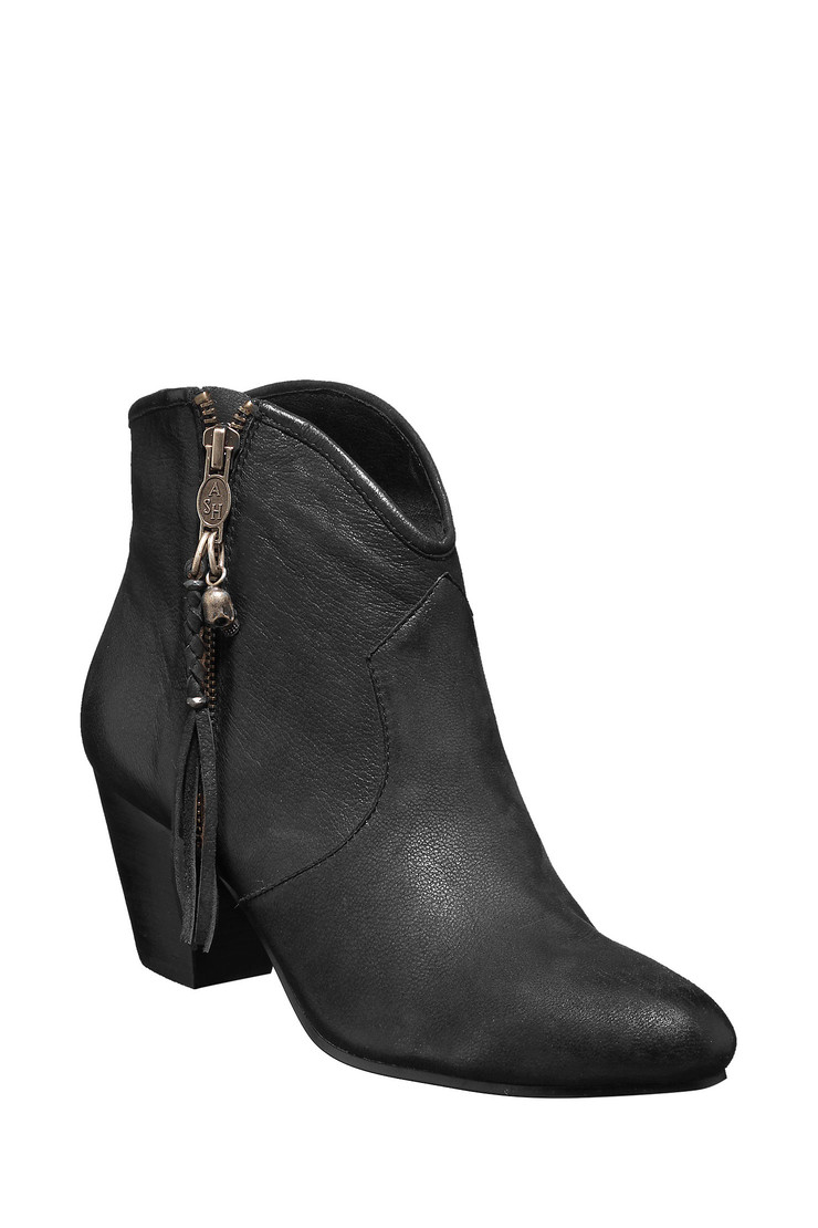 Low boots Jess Noir Ash sur MonShowroom.com