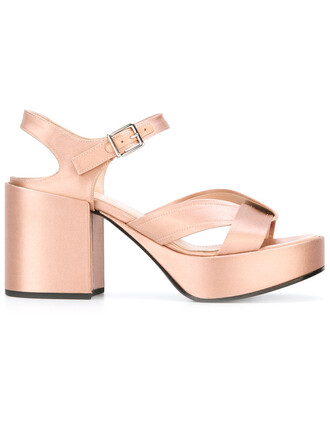 metallic women sandals nude silk satin shoes