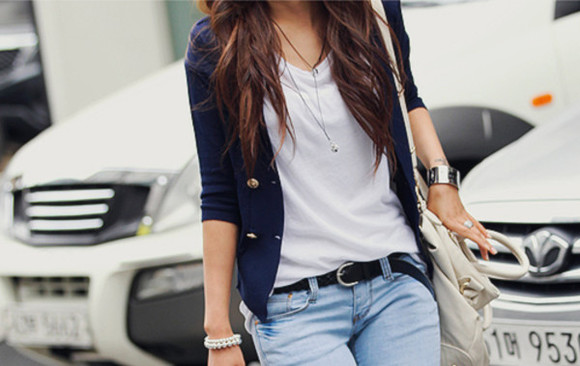 cool jacket jewels Belt blouse