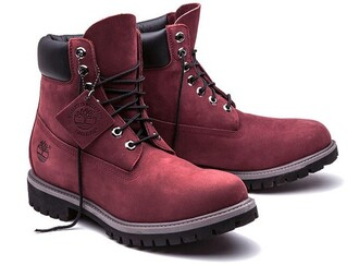 shoes timberland timberlands timberland boots shoes boots booties shoes winter burgundy burgundy shoes pink red timberlands boots