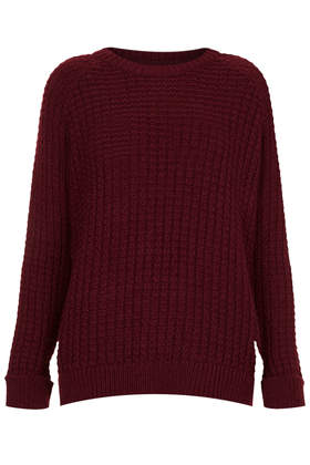 Knitted Fisherman Jumper - Topshop USA