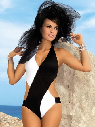 Swimwear 2014 Glamour Monokini Designer Swimsuits European Swimwear