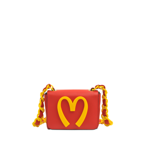 Moschino Small Moschino Fast Food Bag  - MONNIER Frères