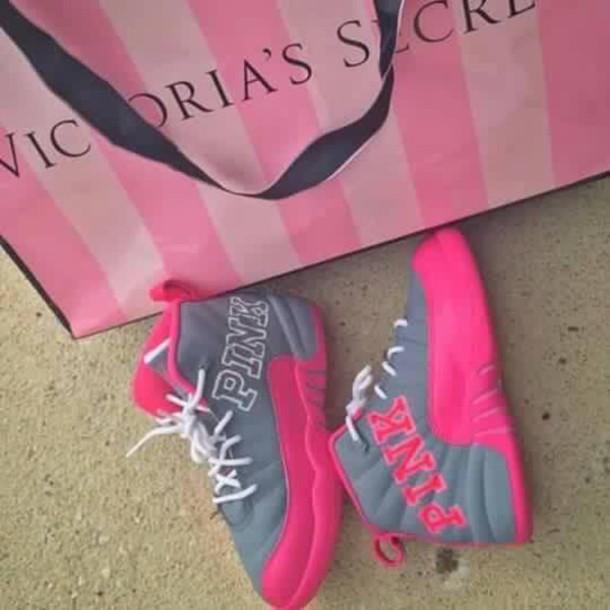 Shoes Jordans Pink By Victorias Secret
