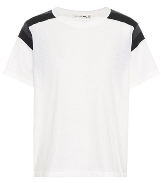 Rag & Bone t-shirt shirt cotton t-shirt t-shirt cotton white top
