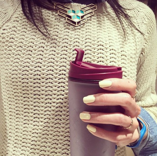 sweater pullover knitted sweater knitwear beige winter sweater top winter tops winter top jewels jewelry necklace gold necklace