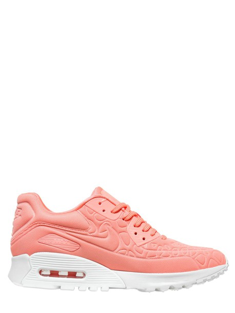Nike sneakers pink salmon shoes
