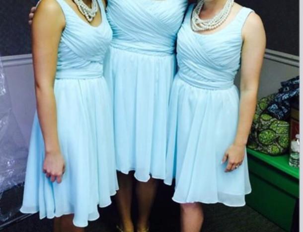 dress it is light blue