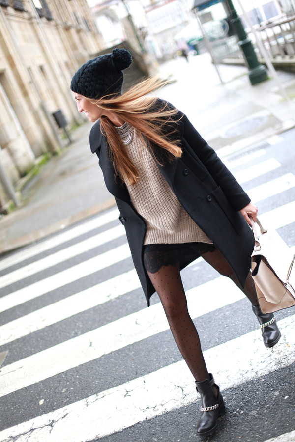 b a r t a b a c coat sweater skirt bag hat jewels sunglasses shoes