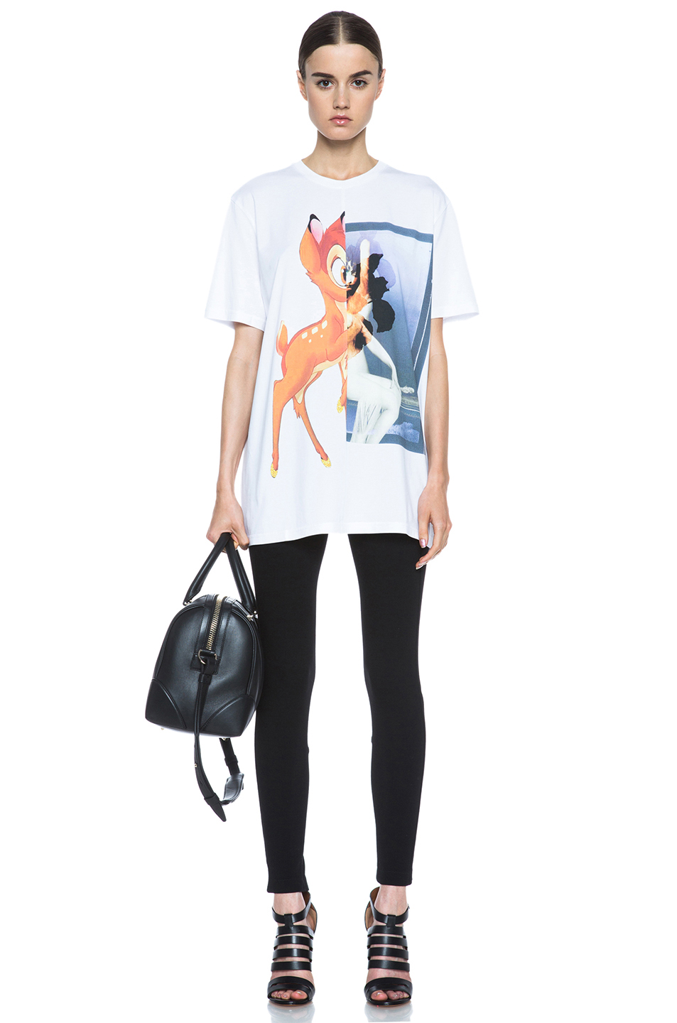 GIVENCHY|Bambi Cotton Tee in White