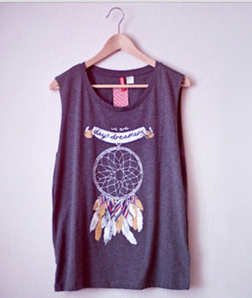 dream catcher day dreamer grey