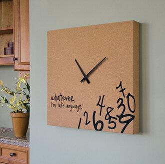 jewels clock home accessory