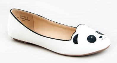 Amazon.com: Bamboo LULA-80 Panda Bear Slip On Flat: Shoes
