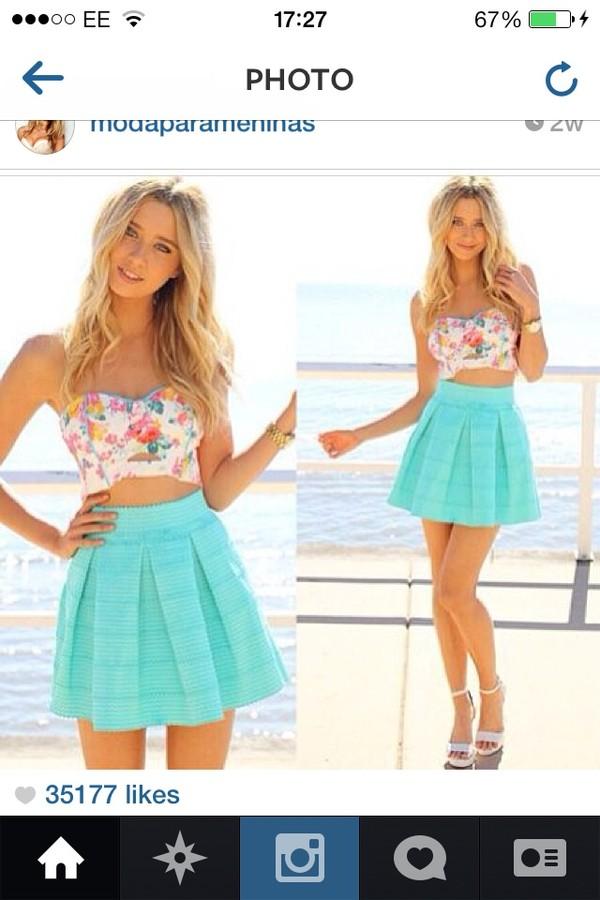 tank top skirt